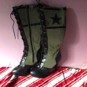Funtasma ARENA-2022 Women's Army Boots